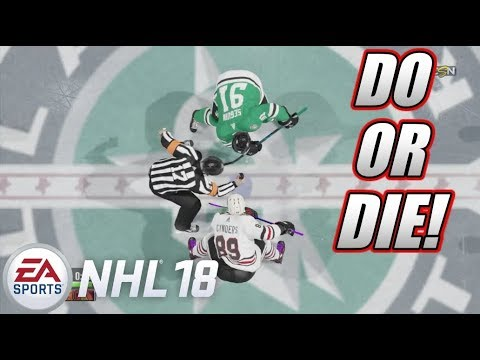 GAME 7 ROUND 2 - NHL 18 Be a Pro #108 [Sniper]