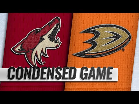 10/10/18 Condensed Game: Coyotes @ Ducks
