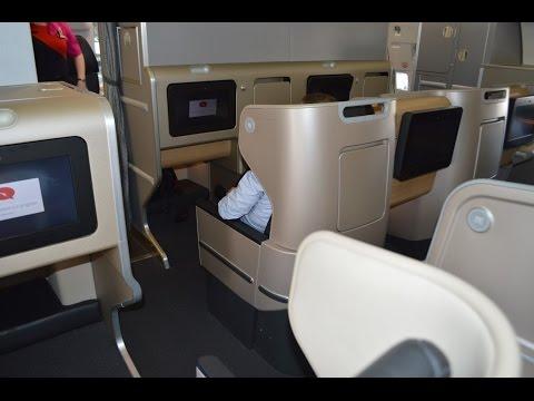 Qantas A330-200 Business Suite : Perth to Melbourne QF776