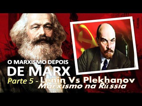 Lenin Vs Plekhanov - A patrulha Aristocrática e a Revolução Antecipada