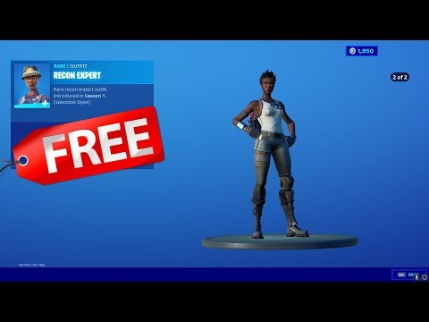 How To Get The RECON EXPERT For Free.. (RECON EXPERT IS BACK)