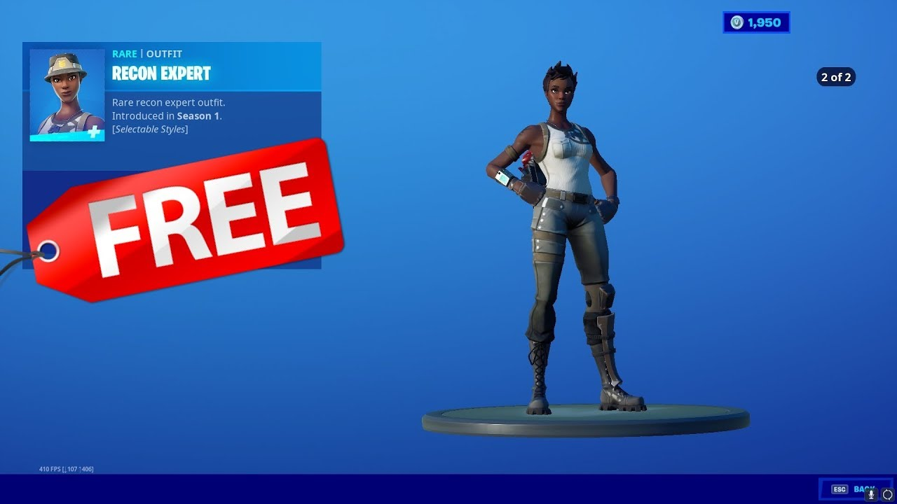 'Fortnite' Is Selling Its Rarest Skin, Recon Expert, For Some Players ...