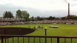 2011.6.28 がんばっぺ福島シリーズ(巨人vsヤクルト)のオープニングセ...