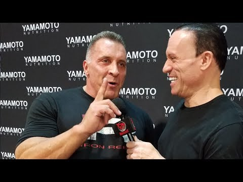 Milos Sarcev Interview at Olympia 2017 Expo!