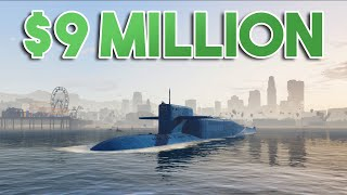 NEW $9 MILLION SUBMARINE IN GTA ONLINE!