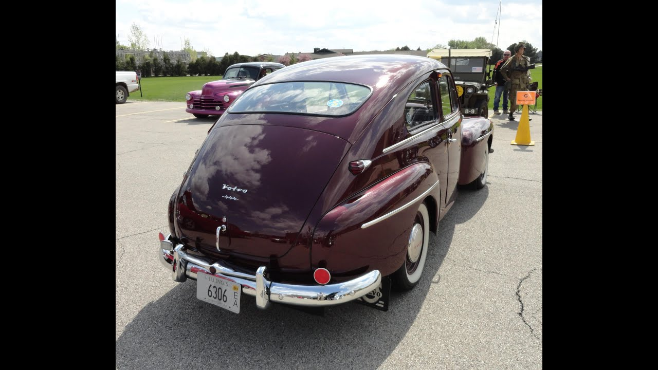 1956 Volvo PV 444 - My Car Story with Lou Costabile - YouTube