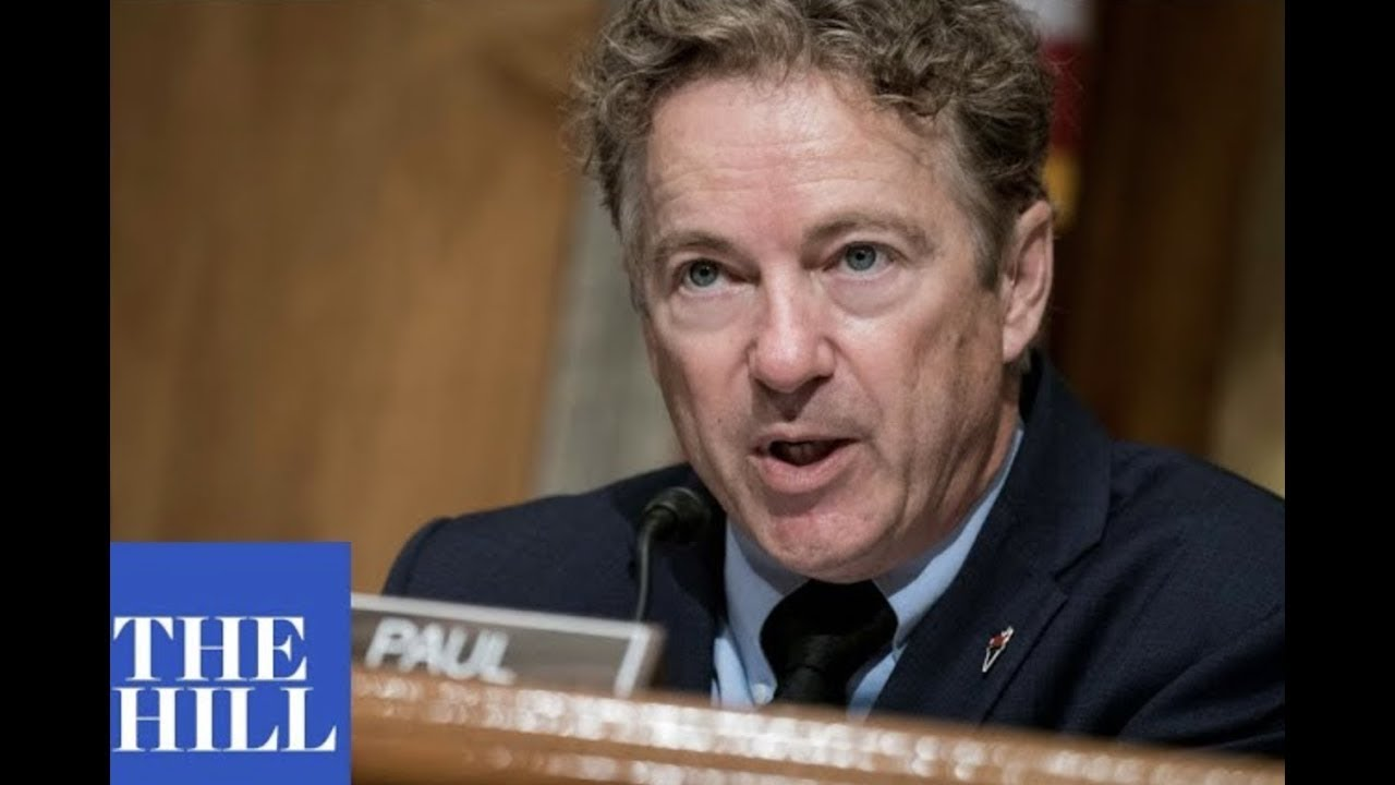 WATCH: Rand Paul's speech against 'sham impeachment' goes viral