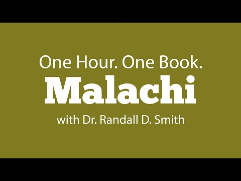 One Hour. One Book: Malachi