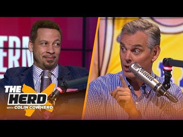Chris Broussard reveals NBA Playoffs picks, says Jeanie Buss chose Kobe over Magic   NBA   THE HERD