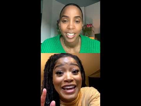 Kelly Rowland interviews Keke Palmer - IG Live 2020