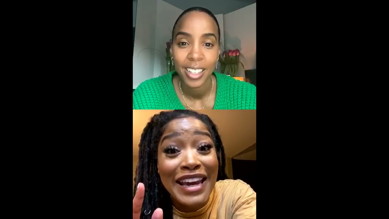 Download Kelly Rowland interviews Keke Palmer - IG Live 2020