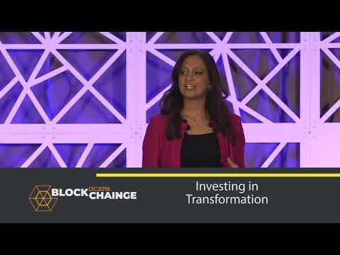 BlockChainge DC 2019 Keynote: Investing in Transformation