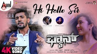 Fan Hi Hello Sir Kannada 4K Song Aryan Adhvithi Shetty Samikshaa Darshith Bhat