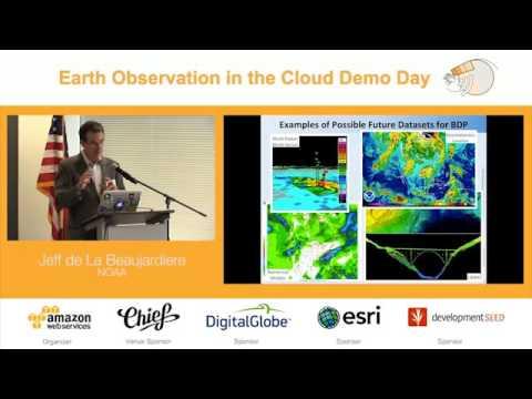 Observação da Terra no Cloud Demo Day   Projeto NOAA Big Data