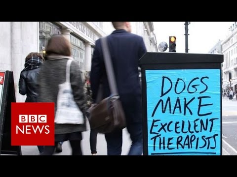 Who's behind mysterious posters in London? BBC News