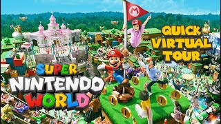 Super Nintendo World - A Quick Virtual Tour