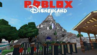 Disneyland Roblox! The Matterhorn! (Left Side)