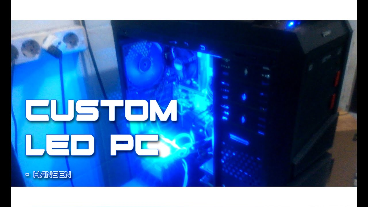 Casing MOD : How To Install Blue LED In Easy Way