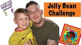 SUPER FUNNY JELLY BEAN CHALLENGE - DOUBLE DARES - PARENT VS KIDS