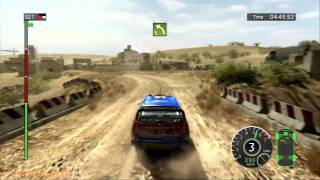WRC FIA World Rally Championship Gameplay 1 - PS3 DEMO