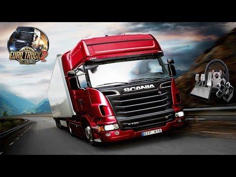 Euro Truck Simulator 2 - Bölüm 8 - 20 Ton Kereste - Direksiyon Seti İle