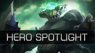 Dota 2 Hero Spotlight - Underlord (Pit Lord)