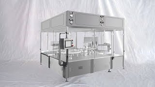 Nasal Spray Bottles Arranging Unscrambling Rotary Liquid Filling Bottling Line L