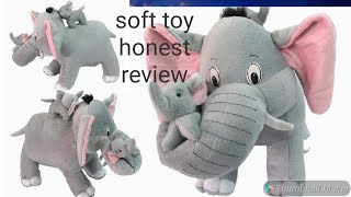 Amazon Soft Toy Review premium Elephant soft toy for Babies Trending vlogger