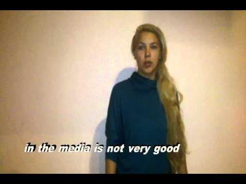 LET ME B ME - Project on Women in the Media - Leila, age 24, Czech Republic