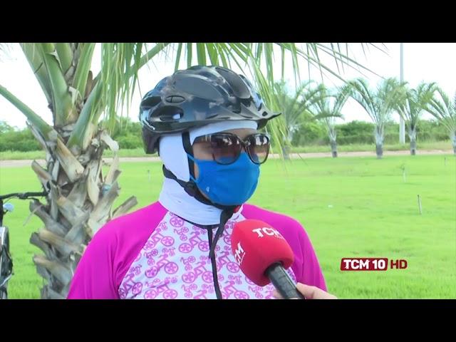 Grupos com cem mulheres engaja o pedal em Mossoró e região