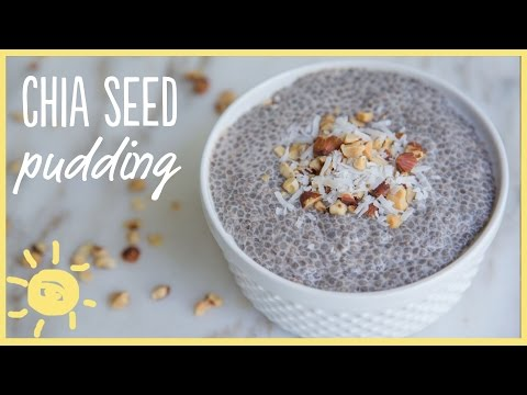 4 Healthy Good reasons to Eat Chia Seeds (Plus, Peaches 'N Cream Chia Seed Pudding Recipe)