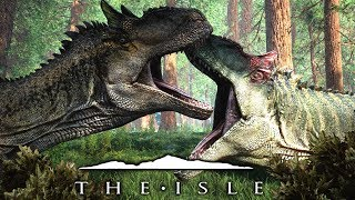 The Isle - Neuer Allosaurus Modell, Skins, Animation & die V2 Redwood Map! | LP The Isle Deutsch