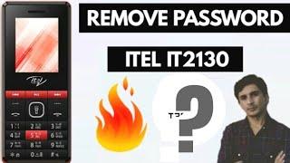 How To Remove Security Password || ITEL it2130 || ( 100%)