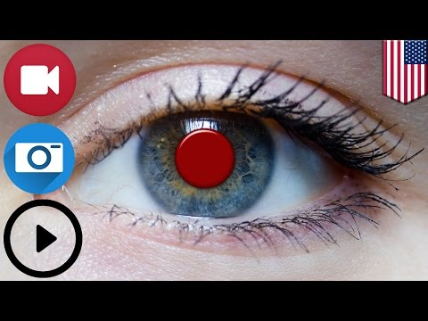 Future tech: Sony files U.S. patent for smart contact lens that records and plays video - TomoNews