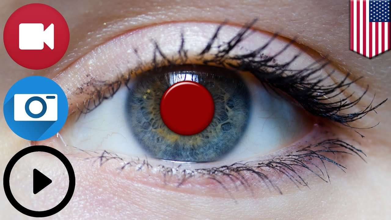 Future Tech Sony Files US Patent For Smart Contact Lens That Records And Plays Video