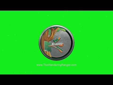 The Wandering Ranger v001 101819 ByJeremyBenisek CyberAxe LOGO STINGS 1920X1080 Loop GreenScreen