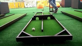 Дорожка N2 для игры в мини гольф   2025golf