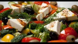 Греческий салат | 7 нот вегетарианской кухни