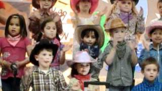 Houston Texans Kids singing cowboys songs