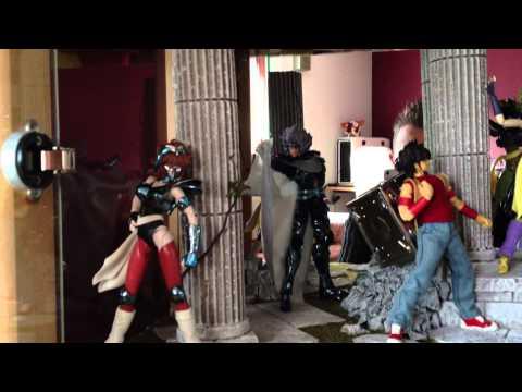 Saint Seiya Myth Cloth - La Collection de miketigra - Vue générale au 15 décembre 2012