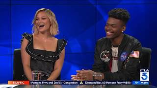 Olivia Holt & Aubrey Joseph on Marvel's