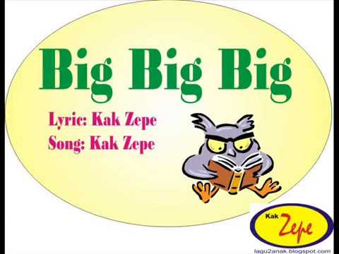 Big big big english children kids song to learn about for Big fish printing