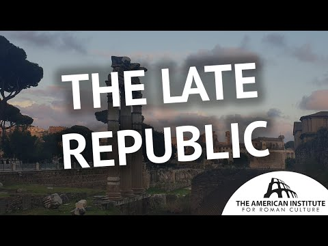 Digging History 10: The Late Republic