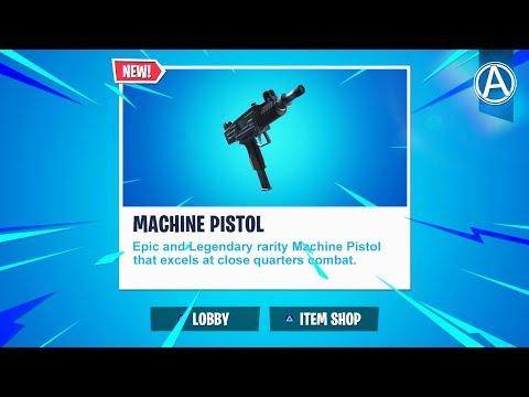 "NEW ""MACHINE PISTOL"" Update! // Pro Console Player // 1700+ Wins (Fortnite Battle Royale LIVE) thumbnail"