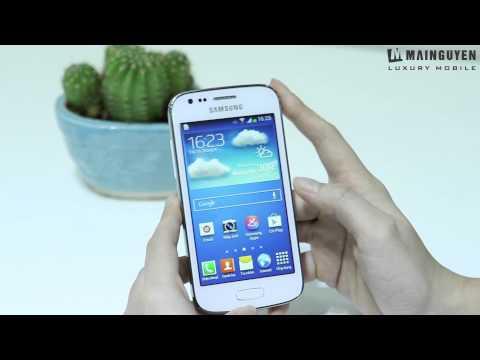 [Khui hộp] Samsung Galaxy Ace 3 - www.mainguyen.vn