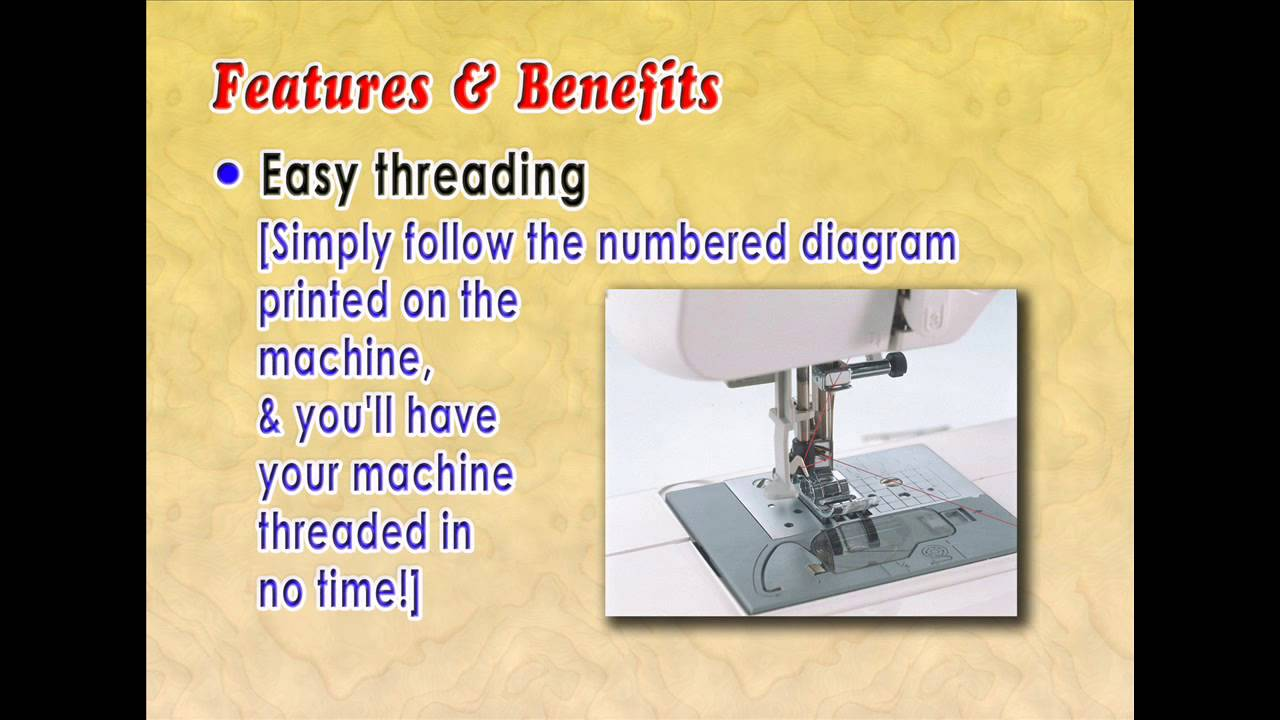 Best Sewing Machine To Buy Reviews Brother Cs6000i Feature Rich Diagram