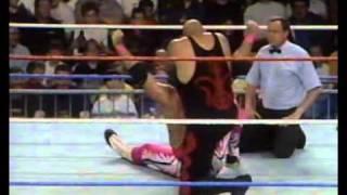 Bret Hart vs. Papa Shango (WWF 1993)