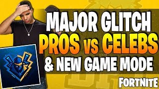 Fortnite News - Game Breaking GLITCH - New Limited Time Game (BLITZ) Mode & Celebs Vs Pros - E3 News