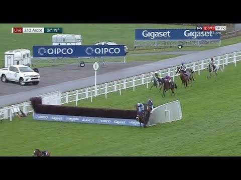 Bizarre Finish To A Horse Race At Ascot!