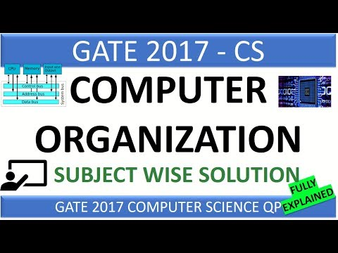 Computer Organization & Architecture | GATE 2017 - Subject Wise Complete Solution